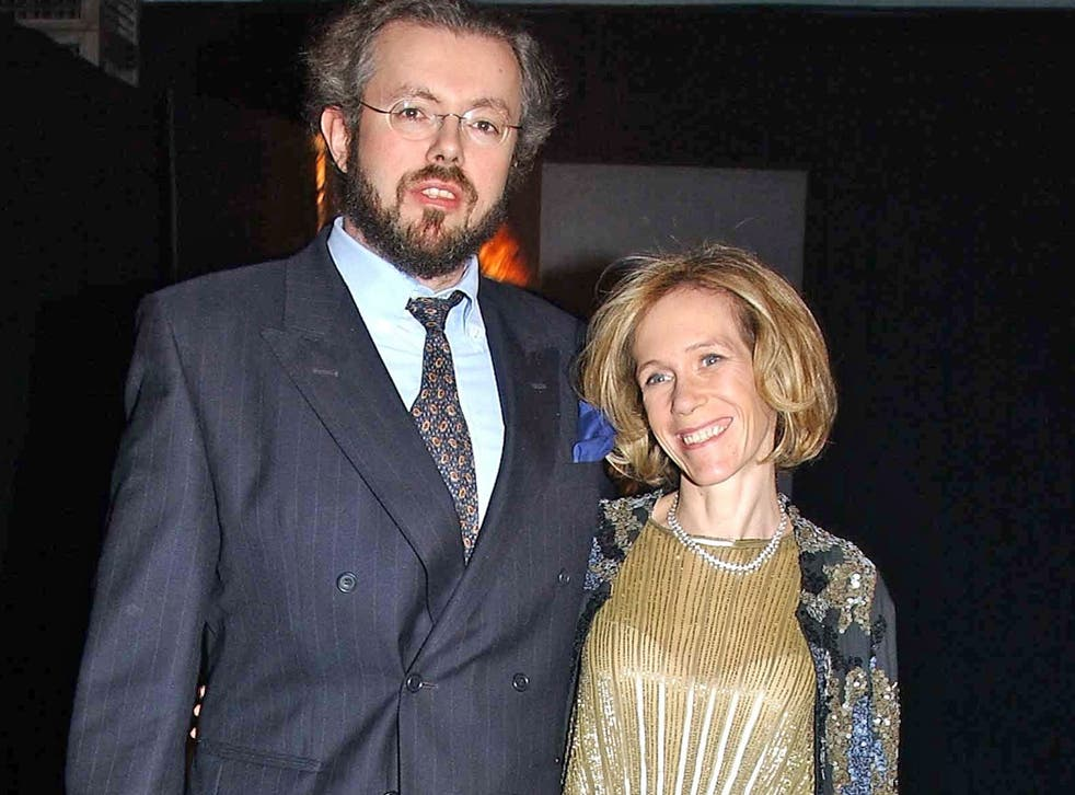 Hans and Eva Rausing at a function in 2003