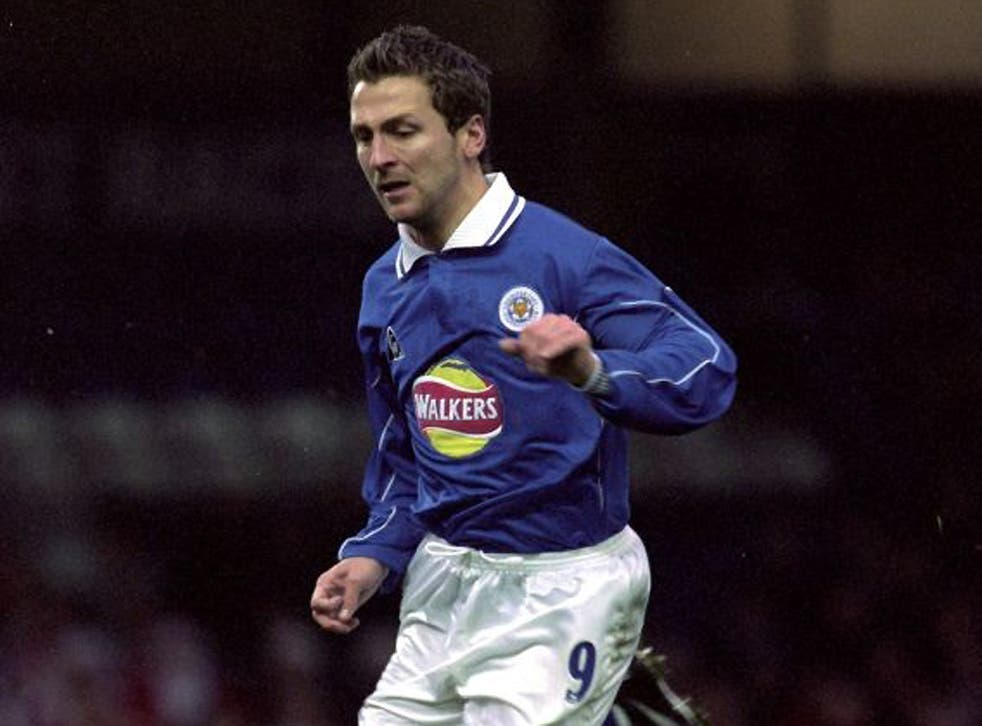 Darren Eadie during his playing days at Leicester City