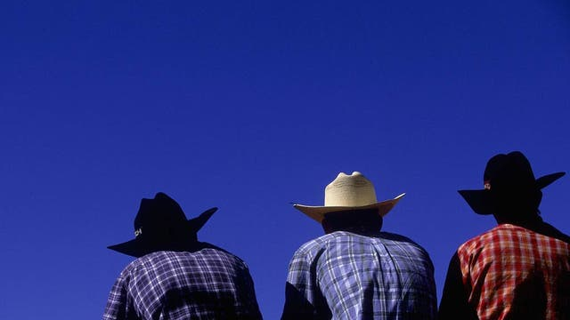 Stetsons evolved from a flat-rimmed, undented dome shape into the classic cowboy hats we all know