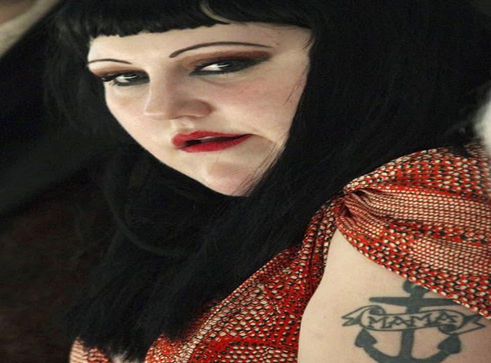 Beth Ditto at Paris Fashion Week this year