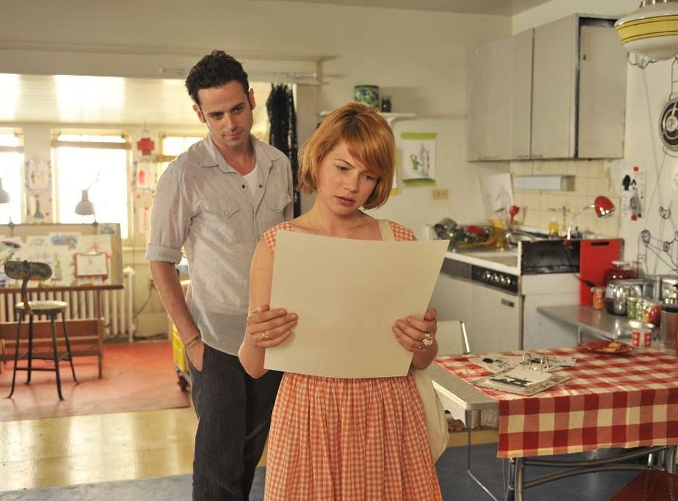 Luke Kirby and Michelle Williams star as Daniel and Margot in 'Take This Waltz'