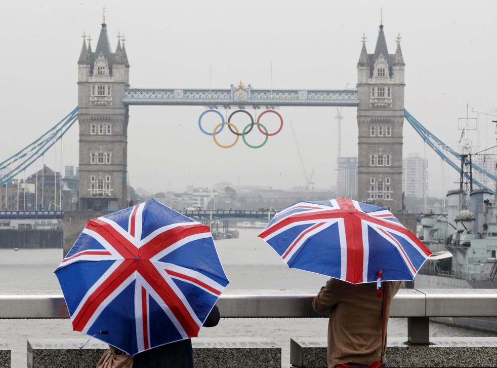 The 2012 Olympics is a chance for London to show the world what Britain is capable of
