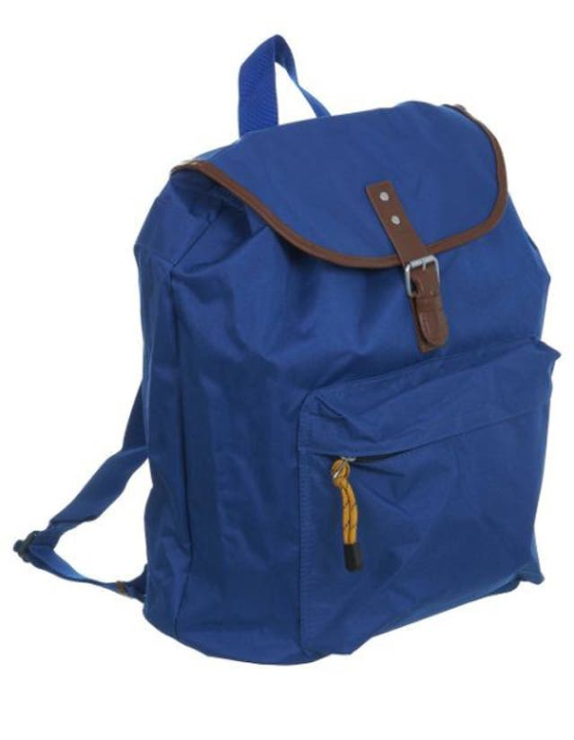 <p>1. Burton</p>  <p>£26, burton.co.uk</p>  <p>A backpack is effective for a brief getaway, especially if the destination is a muddy field and hands must be free to carry lager. This nylon one will also withstand rain.</p>