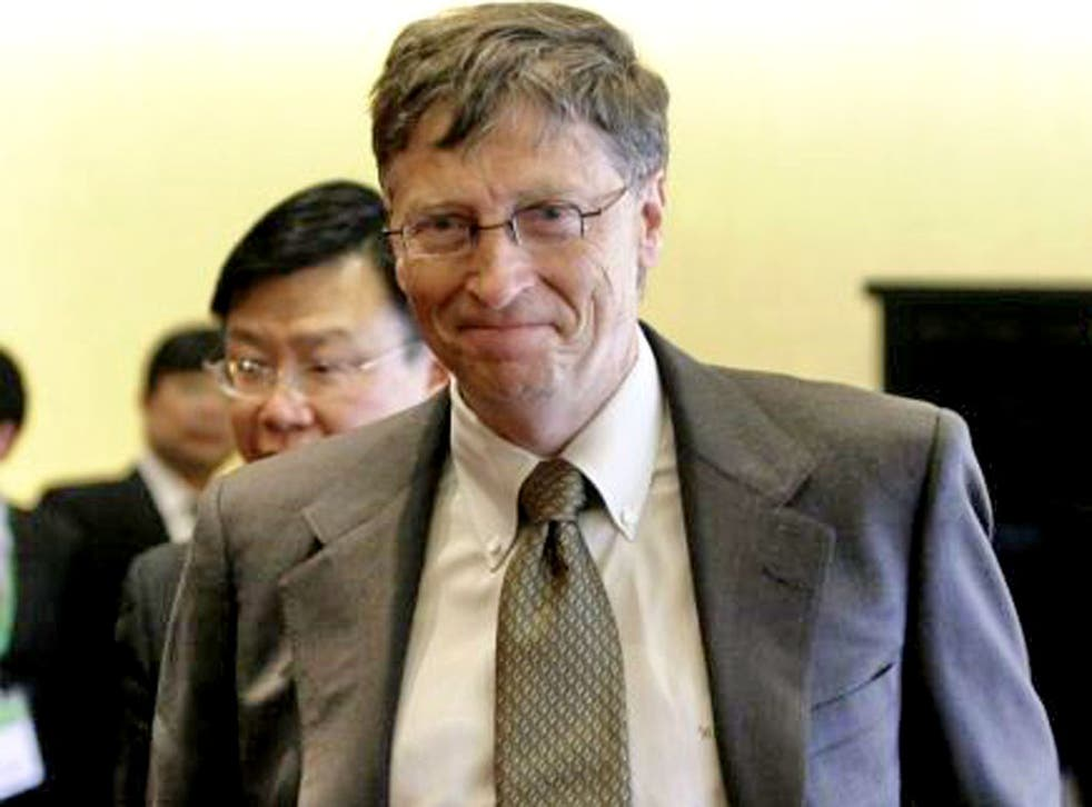 Bill Gates' foundation is a major player in global development