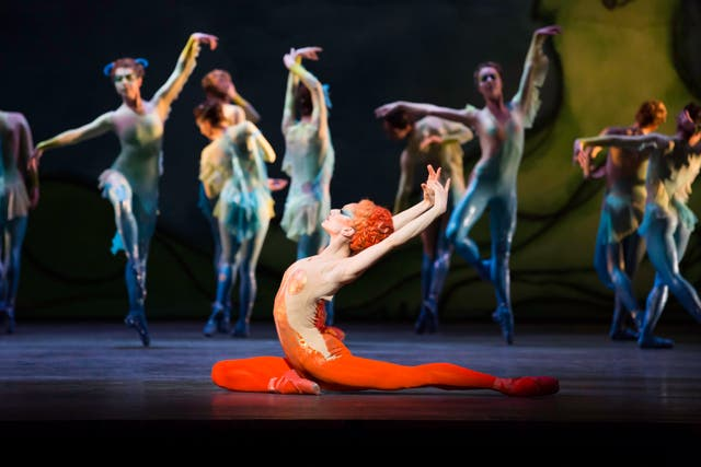 Marianela Nunez and The Royal Ballet in Diana and Actaeon