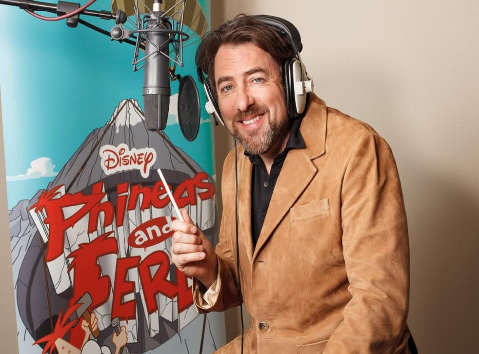 Jonathan Ross is to become a cartoon character in Phineas and Ferb