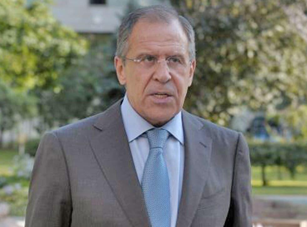 Sergei Lavrov accused Western powers of blackmail