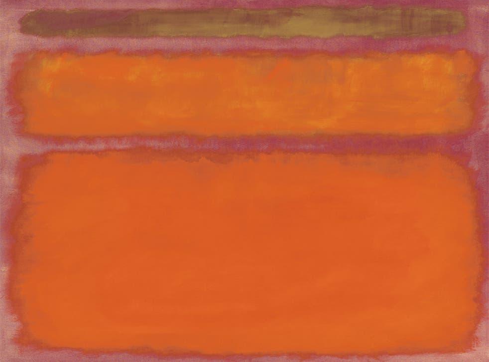 $86m: Mark Rothko - Orange, Red, Yellow