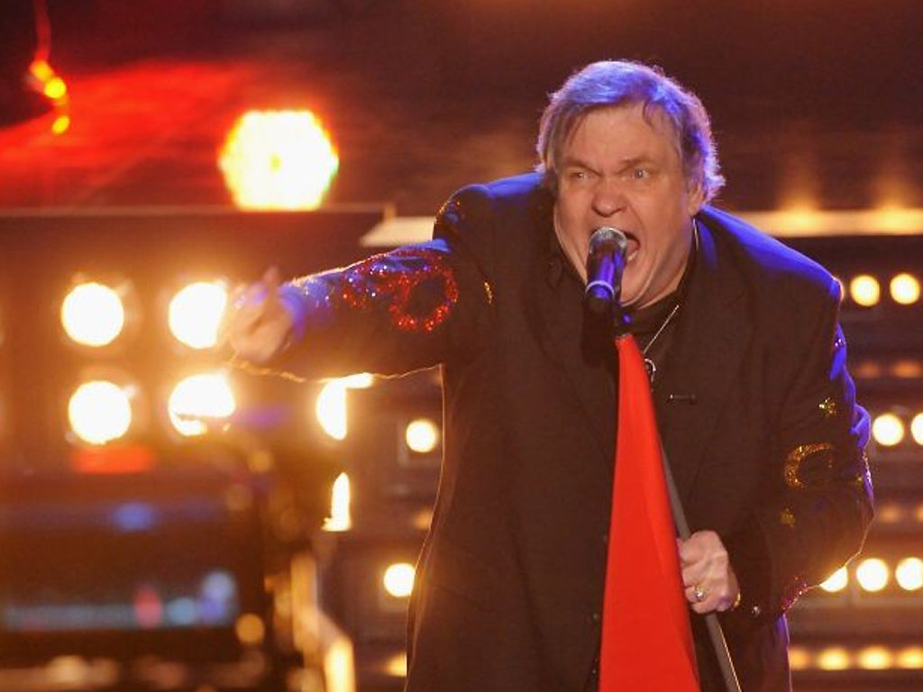 Meat loaf sues over use of bat out of hell