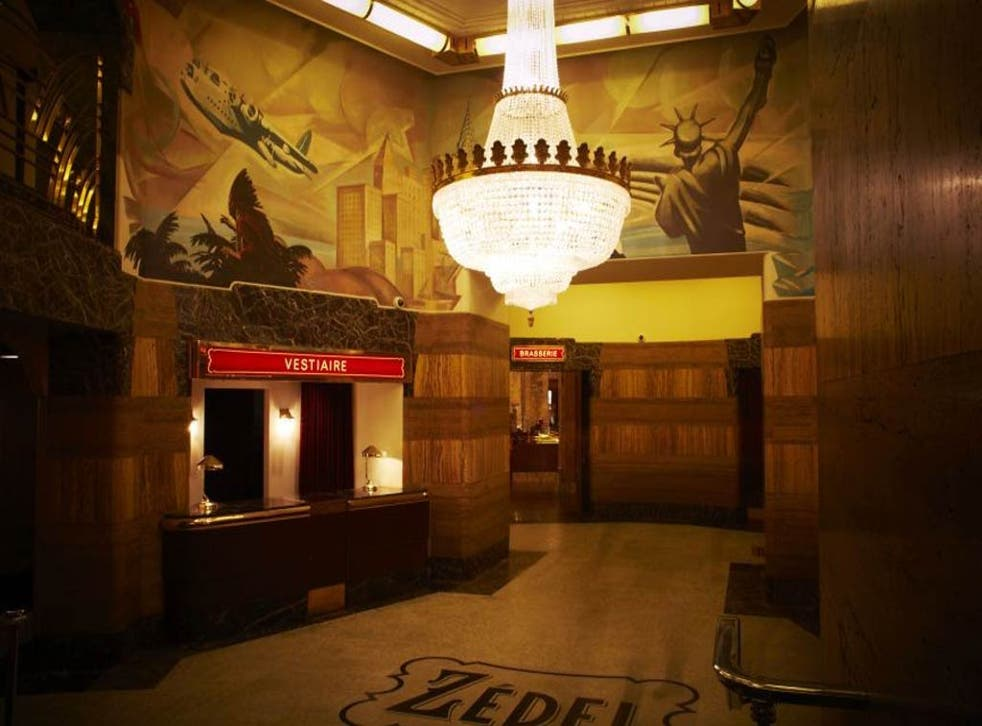 Brasserie Zédel has taken over what was once part of the Regent Palace Hotel, and more recently the Atlantic Bar
