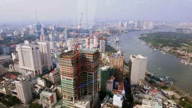 High ideals: Ho Chi Minh City in Vietnam