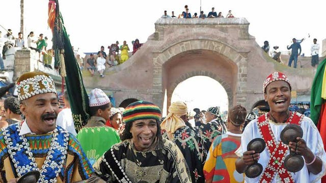Beat that: gnaoua musicians perform in Essaouira