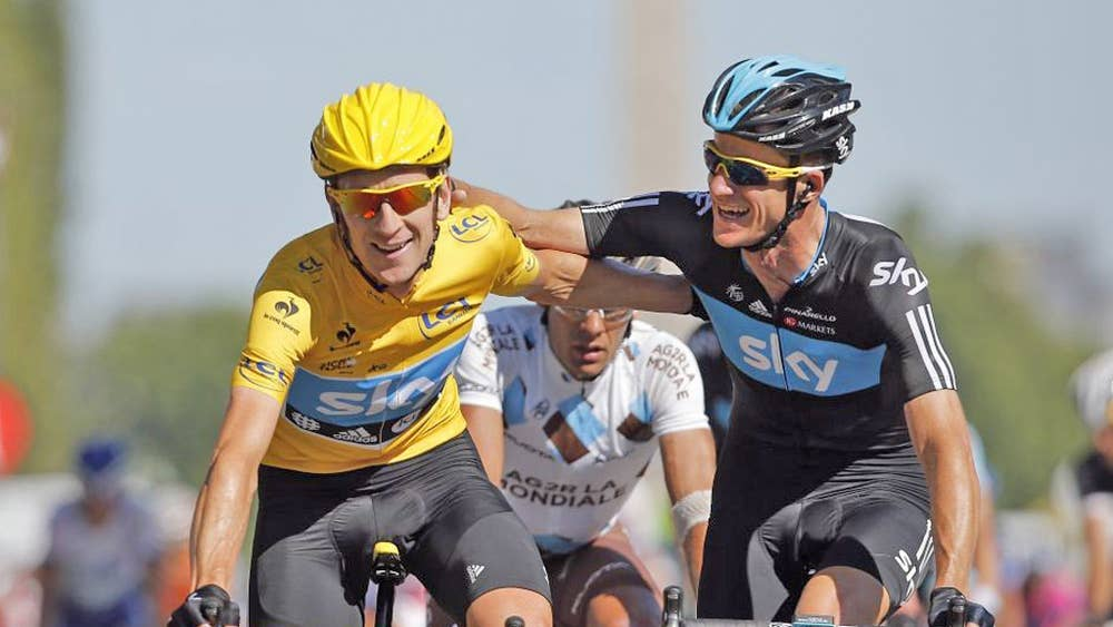 767bd1d23 Cycling  Bradley Wiggins ready to relinquish Tour de France title and put  Chris Froome on pedestal