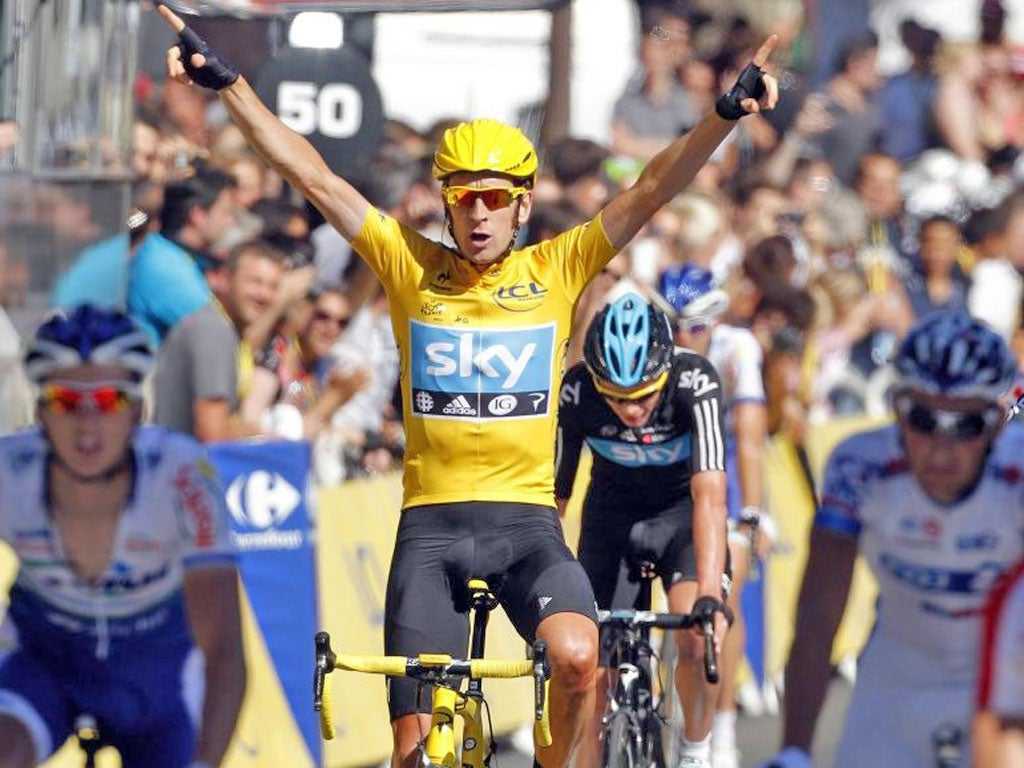 a1902d654 Tour de France  Team Sky principal Dave Brailsford believes Bradley
