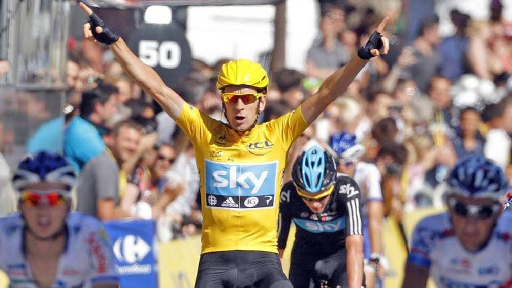 f84d177ee Tour de France  Bradley Wiggins  dream comes true in Paris