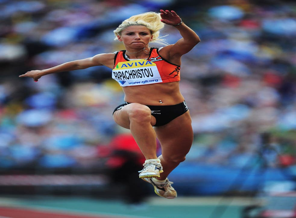 Paraskevi Papachristou in action last year
