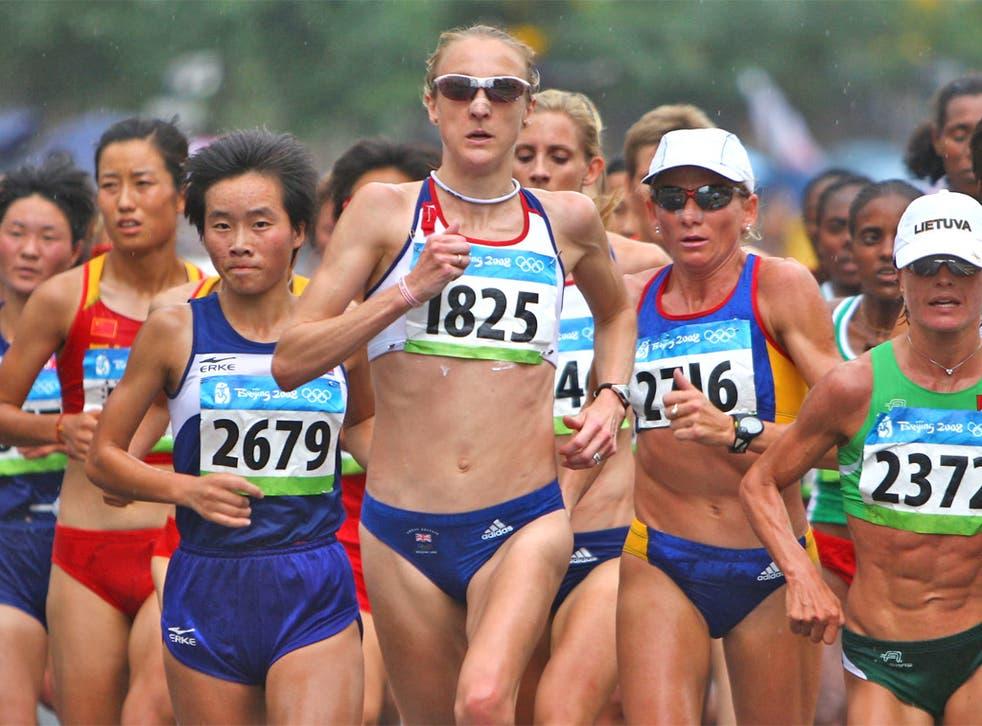 Paula Radcliffe's chances of making the marathon are rated 50-50