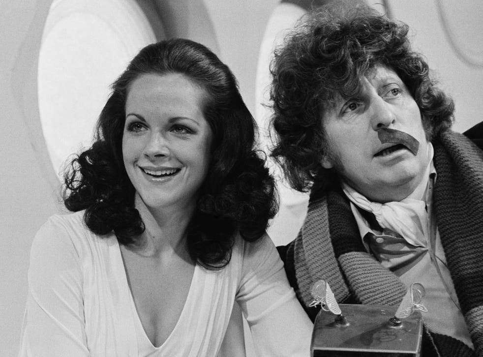 Tamm with Tom Baker in 1978