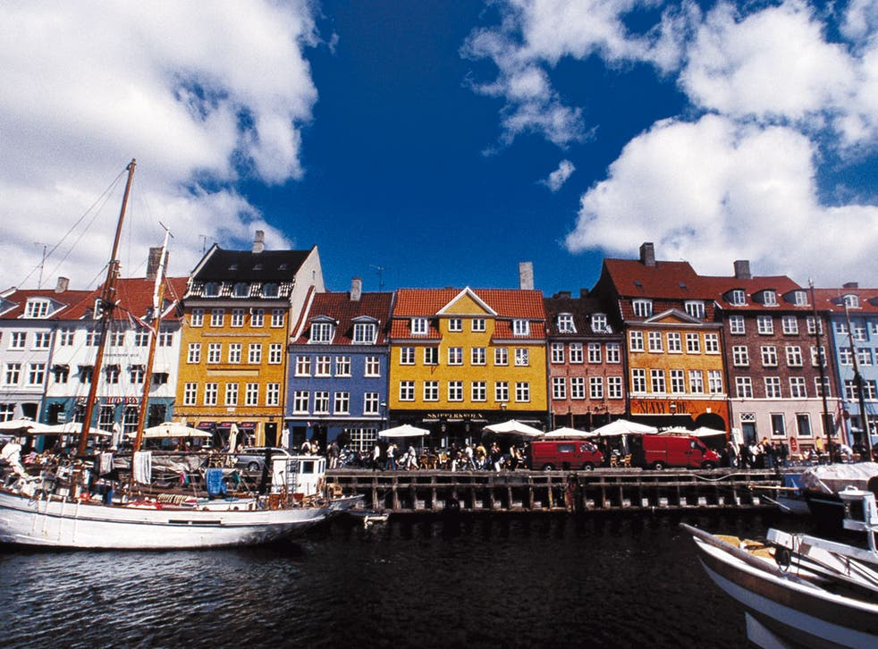 Not so picturesque: 90 tonnes of rubbish has been pulled from Copenhagen harbour since the beginning of March