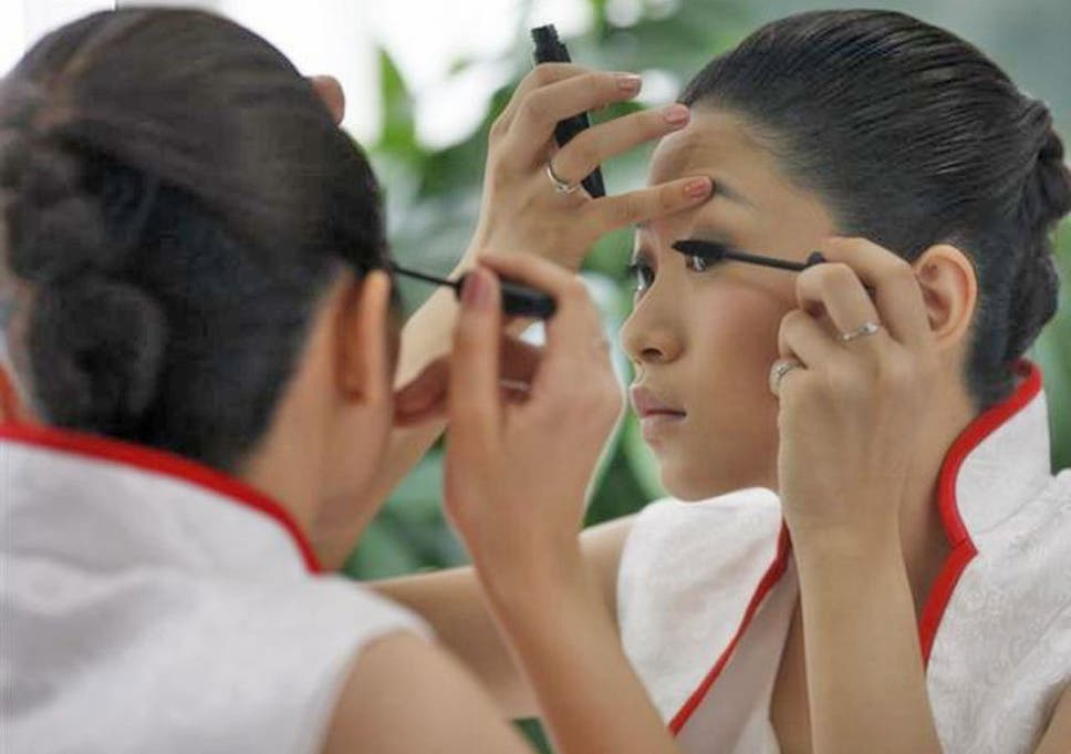 Sales of cosmetics grew by 18 per cent in China last year, amounting to £