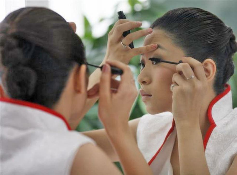 Sales of cosmetics grew by 18 per cent in China last year, amounting to £10bn
