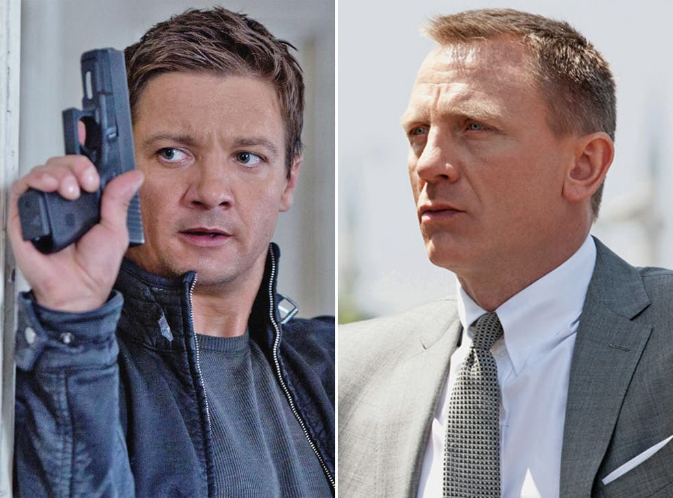 Mistaken identity: have the agents played by Jeremy Renner and Daniel Craig had a personality swap?