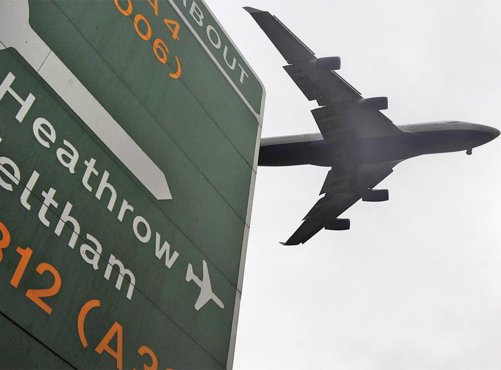 Unchecked growth in capacity at Heathrow and elsewhere would make it impossible for the UK to meet its emissions reduction target of 80 per cent by 2050
