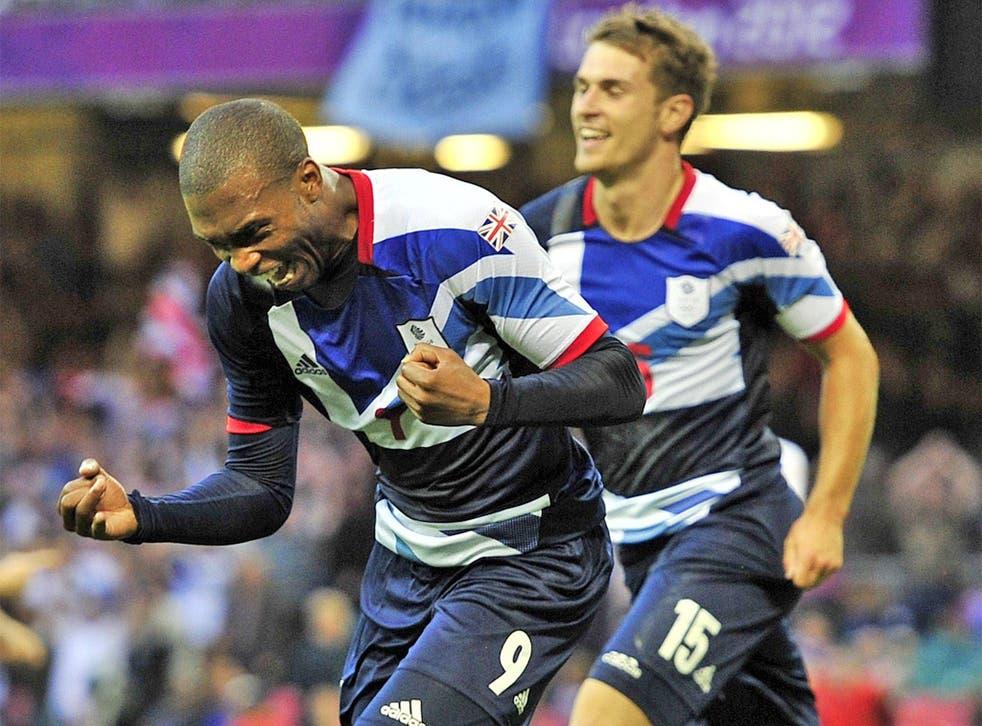 Daniel Sturridge celebrates opening the scoring last night