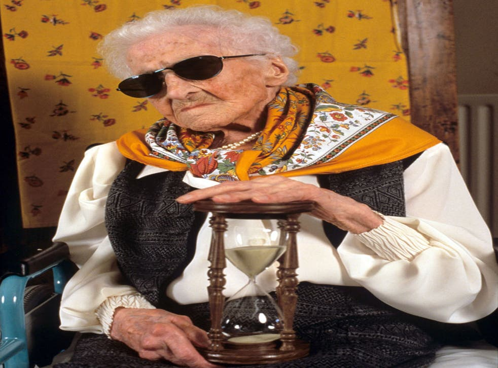 Jeanne Calment, at 122, is the oldest woman in the world