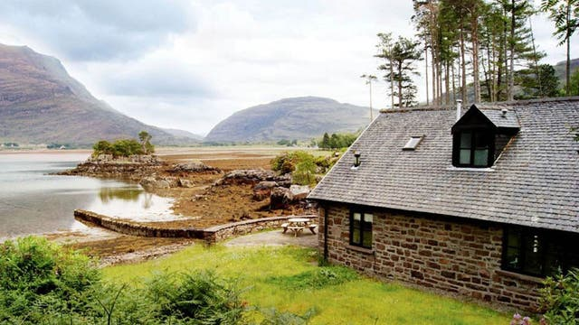The Torridon Boat House, Wester Ross  <p>This cottage-style boathouse is surrounded by parkland in the remote Western Highlands. It has two bedrooms, a vast kitchen and a cosy lounge with a domed, bay window that juts out towards Loch Torridon – home to heron and otters. You can try archery or gorge scrambling via the adjoining Torridon Hotel, while whisky enthusiasts will delight in the hotel bar which has more than 350 malts.</p>  <p>The Torridon Boat House, by Achnasheen, Wester Ross IV22 2EY (01445 700300; thetorridon.com). Weekly rental starts from £900. Sleeps four people.</p>