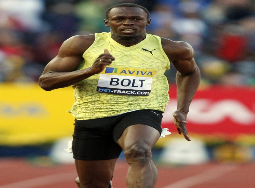 What gives Usain Bolt the edge over his rivals?