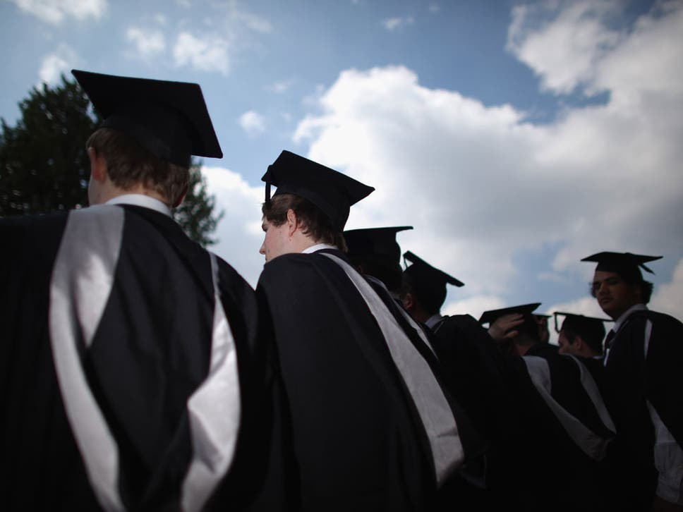 That cap and gown just cost me four thousand pounds | The Independent