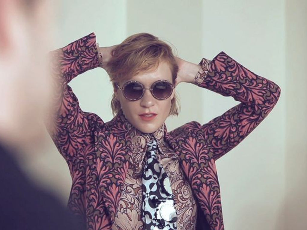 bd6569bd5b Chloë Sevigny  A suitable girl for Miu Miu