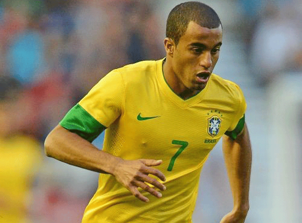 At 19, Lucas is rated a great prospect and won a Brazil Olympic place