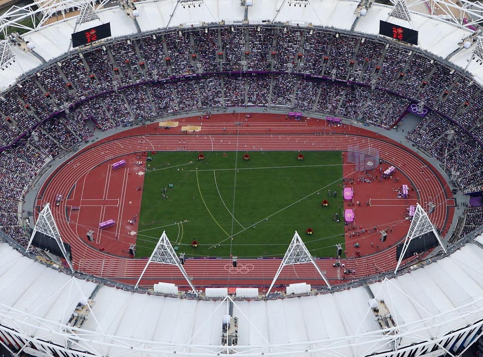 The Olympic Stadium, the new home of West Ham