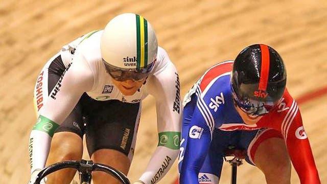 Britain's Pendleton beats Australia's Meares in last April's World