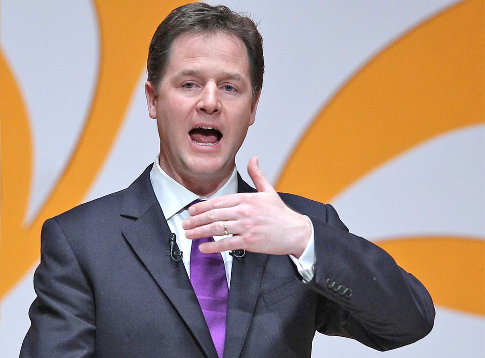 Many Tories are livid that Mr Clegg has vowed to oppose the redrawing of boundaries