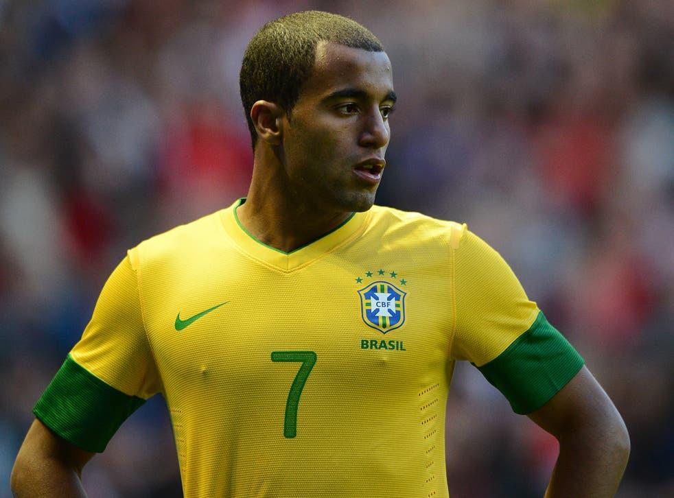 Lucas Moura of Brazil