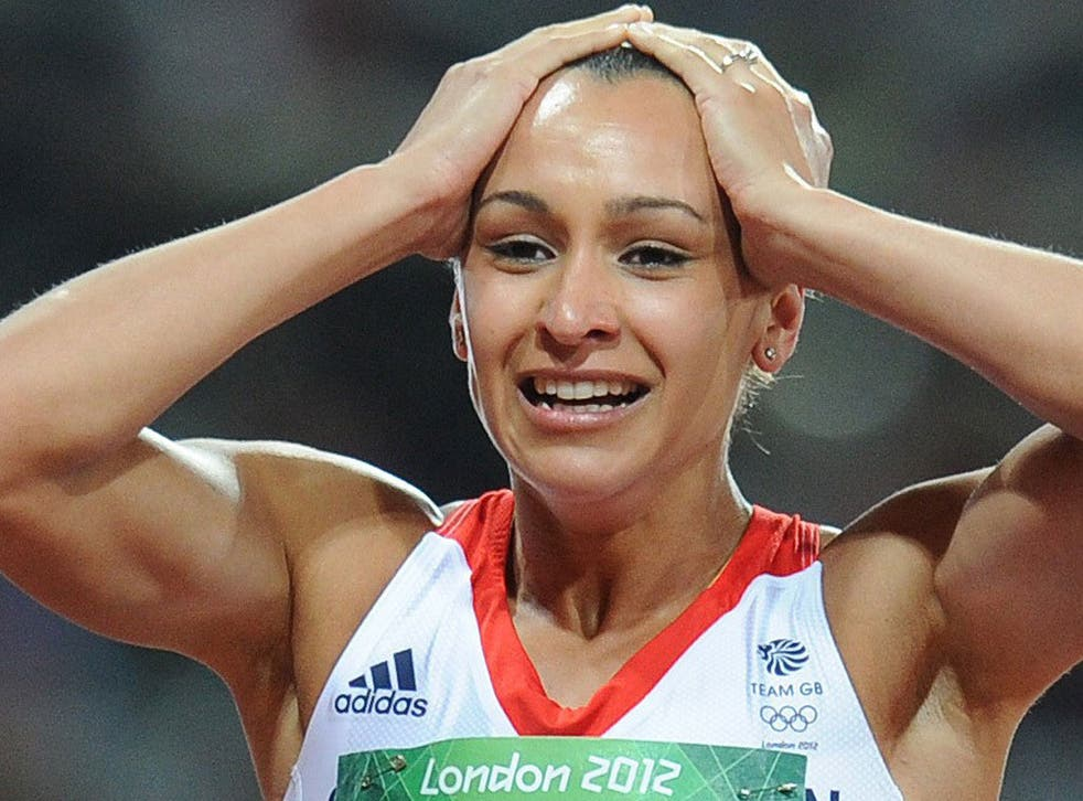 Jess Ennis was watched by 300 people in her last warm-up event