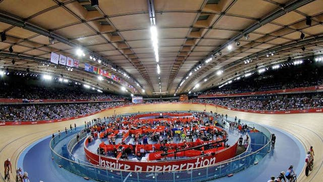 Velodrome: The £93m stage for Team GB's domination of cycling will form part of Lee Valley VeloPark along with BMX, mountain and road cycle facilities. Manchester's velodrome will be HQ of British cycling