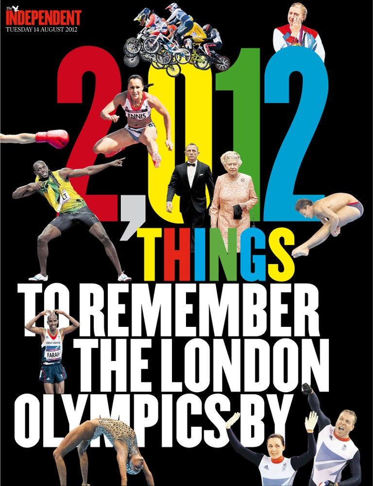 2012 things to remember the London Olympics by - Part 1, 1