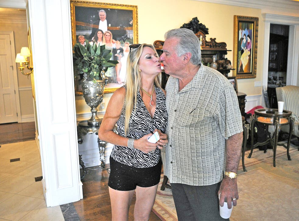 David and Jackie Siegel at their home in Florida