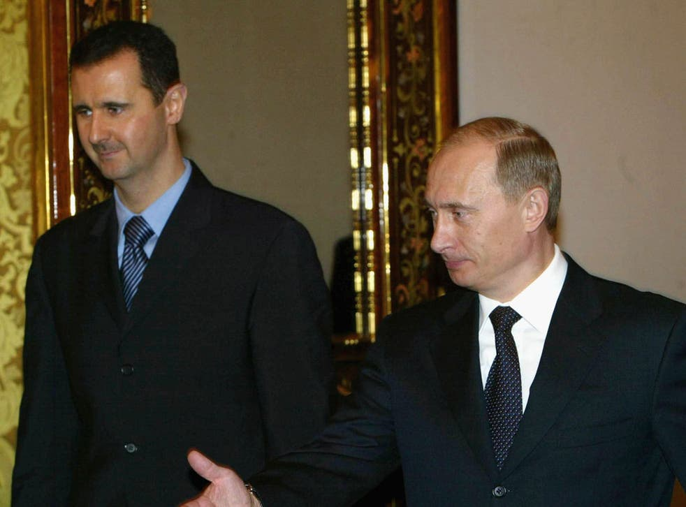 Putin warned again intervention in Syria