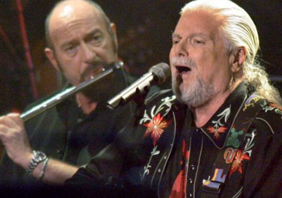 Scottish Musician Ian Anderson Left Of Jethro Tull And Scott Mckenzie Performing During A