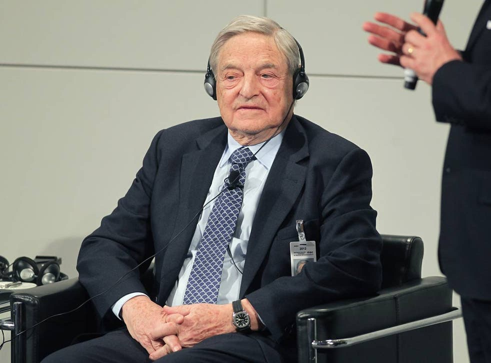 George Soros pictured in 2012