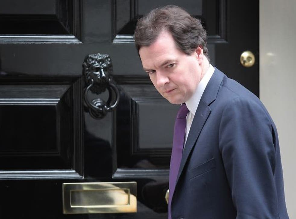 The borrowing figures are a further blow to the Chancellor George Osborne
