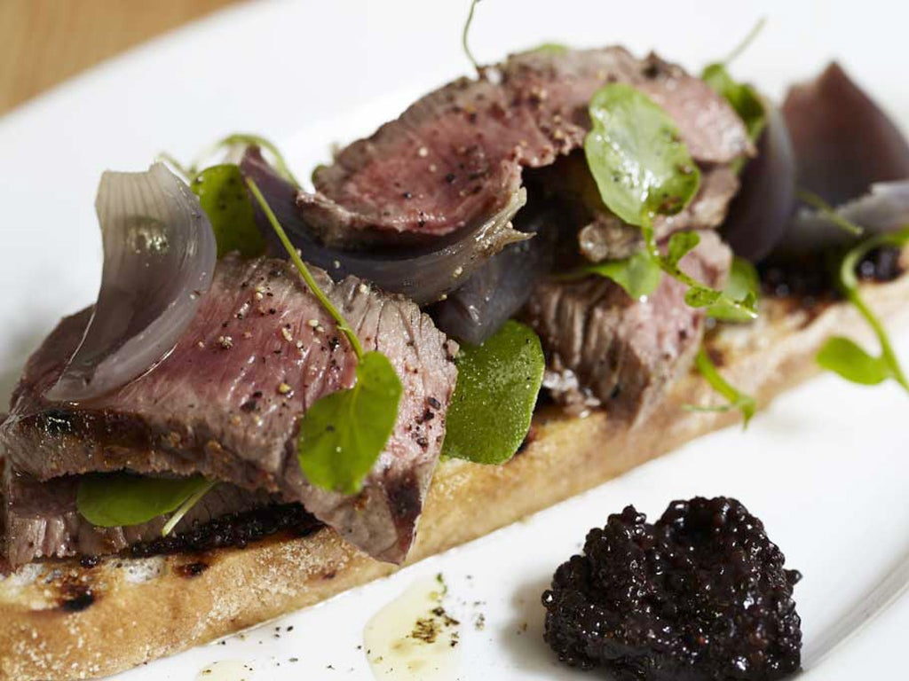 Steak, onion and watercress sandwich | The Independentindependent_brand_ident_LOGOUntitled