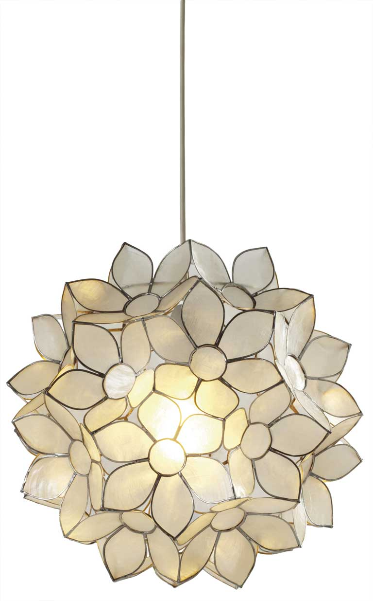 A radiant affair: Ceiling lights that dazzle with looks as well as ...