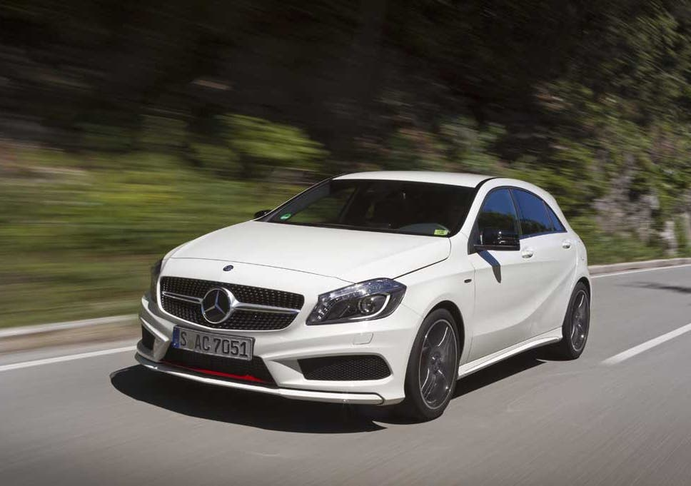 mercedes benz a250 engineered by amg the independent rh independent co uk New Mercedes Sports Car White Mercedes-Benz A250 Sport