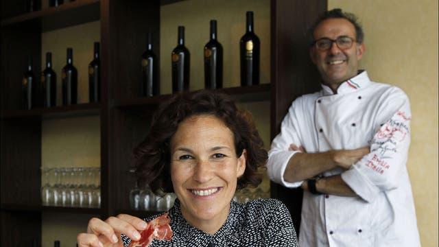 Hey good cooking: Massimo Bottura and wife Lara Gilmore